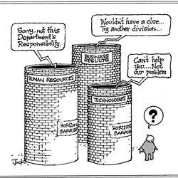 cartoon data silos