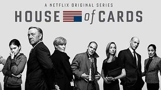 House of Cards Netflix banner with main characters