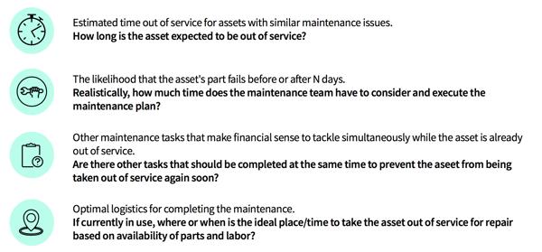 predictive maintenance questions