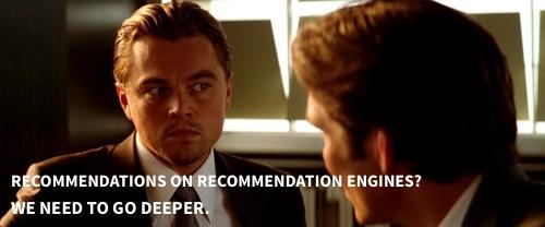 Leo Decaprio recommendation engines
