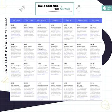 IMAGE Data Science from Home Calendar DATA TEAM MGR March 2020
