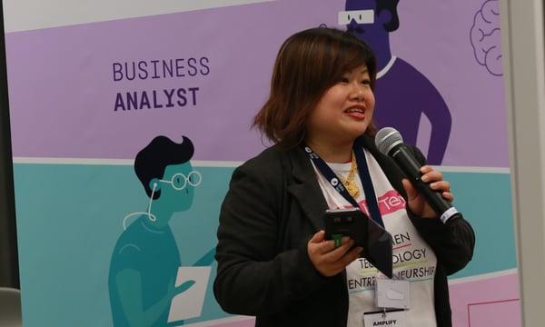 woman speaker