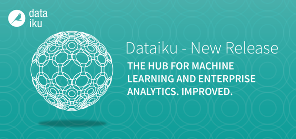 Dataiku 4.1 product release announcement