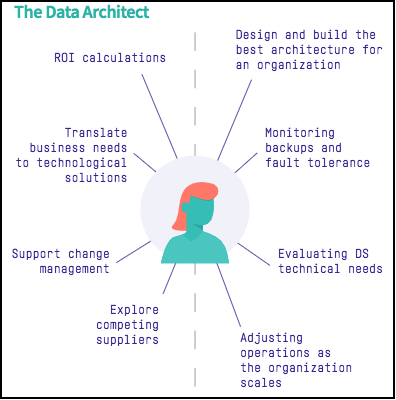 business tech sides of data architect infographic