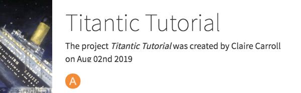 Titanic tutorial Dataiku DSS project