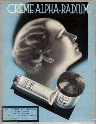 radioactive cream