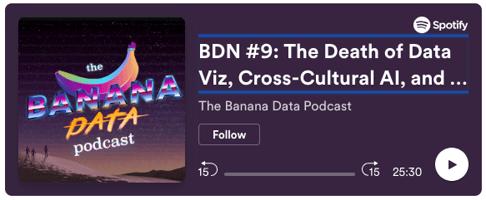 banana data podcast