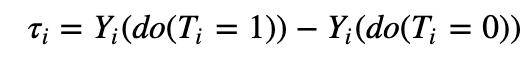 causal effect formula