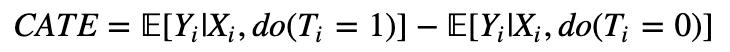 CATE formula