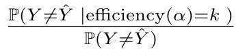 conformal error ratio
