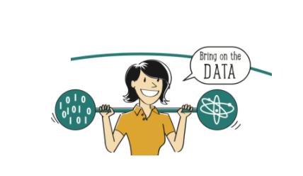 data scientist weight graphic