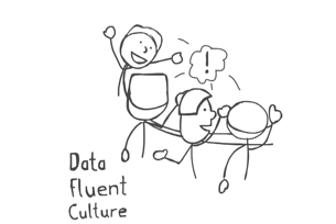 data fluency culture cartoon