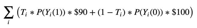expected revenue formula