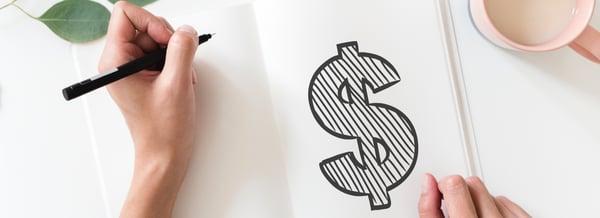 salary dollar sign graphic