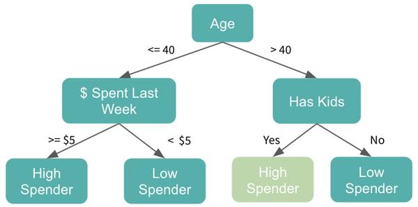 tree based models decision tree example