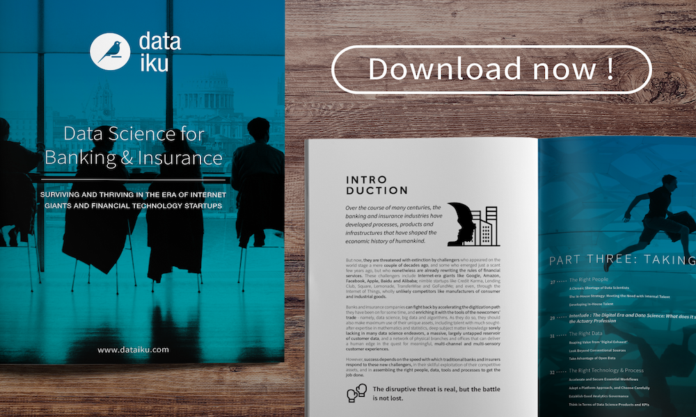 New Ebook: Big Data for Banking and Insurance