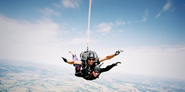 Sky Diving… For The Second Time