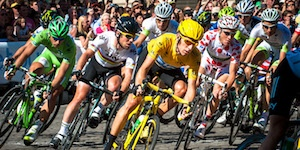 Data Visualization and the Tour de France with Dataiku