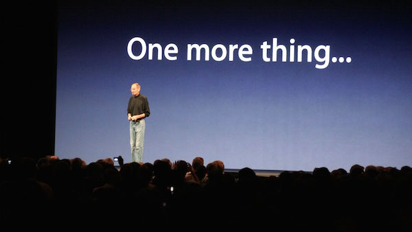 steve jobs apple event keynote one more thing