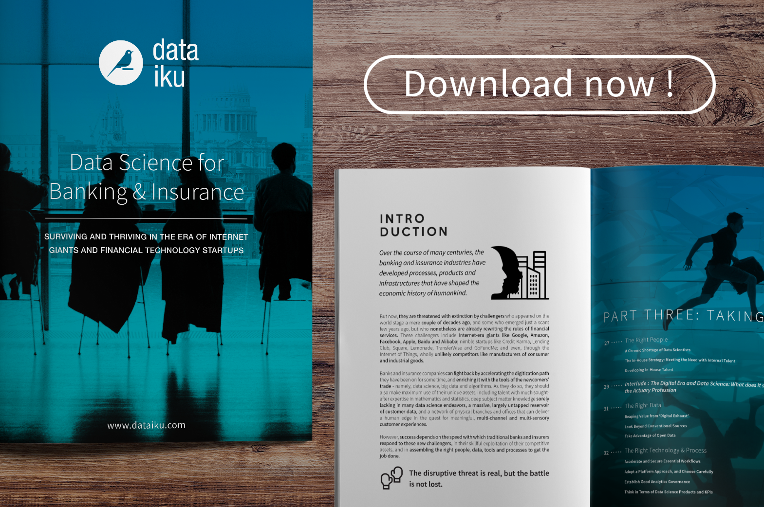 A New Ebook for Banking and Insurance Companies to Harness the Power of Big Data