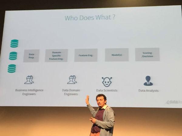 Florian Douetteau Dataiku CEO at Papis'15
