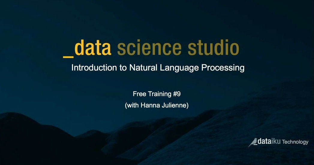 An Introduction to Natural Language Processing [Video]