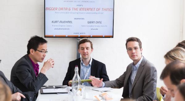 Dataiku at Innovate Finance Week 2015 in London