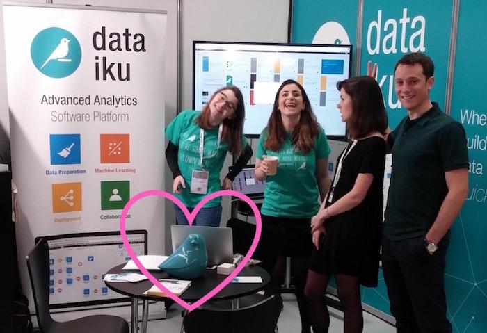 Blue Bird and the team and Big Data Paris