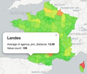Geographic data visualization in Dataiku DSS (1/2)