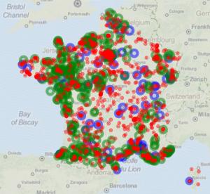 Geographic data visualization in Dataiku DSS (2/2)