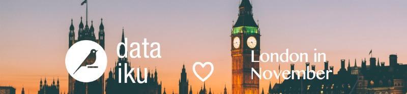 dataiku loves london