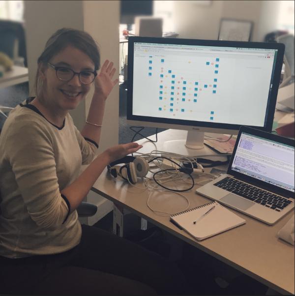 Hanna Julienne, Data scientist at Dataiku
