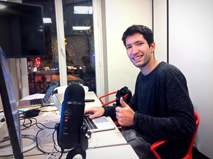 Matthieu Scordia, Data scientist at Dataiku