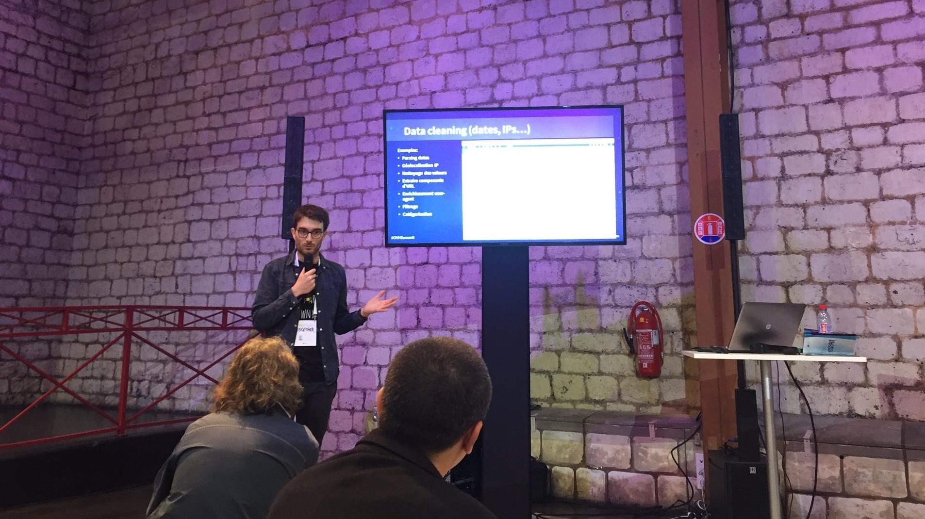 Jeremy greze talk at ovh summit 2016