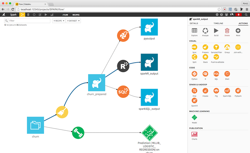 A preview of the new Data Science Studio!