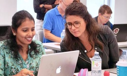 Bridging the Gender Gap in Data Science with Ladies Learning Code