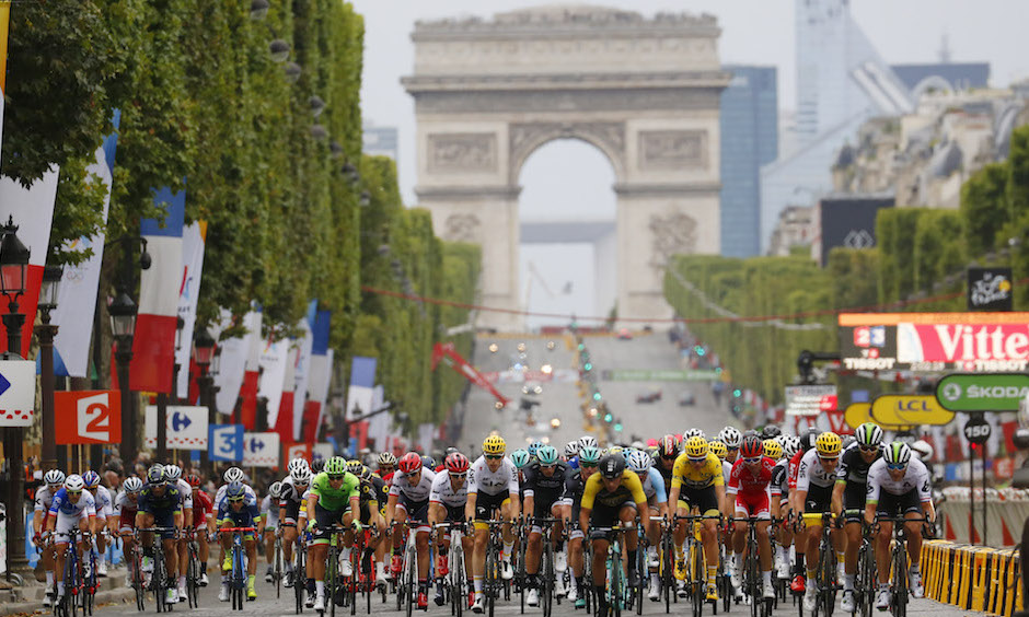 From the Sidewalk to the Saddle: Data and the Tour de France
